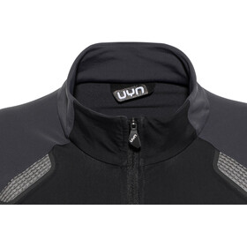 UYN Move Zip Up Jacket Dam black/charcoal/off white